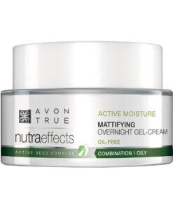 Nutraeffects Mattifying Crème de nuit matifiante en gel 2697800 50ml